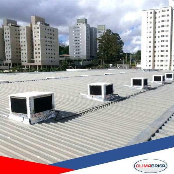 Cliente Climatizador para Supermercado, Climatização de Supermercado, Climabrisa - Climabrisa